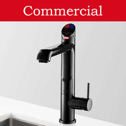 Zip G4 Classic 5 In 1 HydroTap For 21 - 40 People (Gloss Black, Mains).