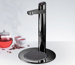 Zip Elite Filtered Chilled Water Tap & Integrated Font (Gloss Black).