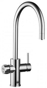 Zip Arc Design AIO Filtered Chilled & Sparkling Water Tap (Brush Chrome).