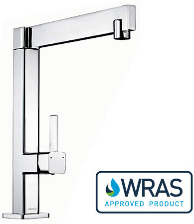 Additional image for Sparton Single Lever Kitchen Tap (Chrome).
