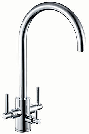 Additional image for Curvato Trio 3 In 1 Filtered Kitchen Tap (Chrome).