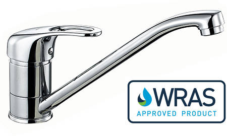 Additional image for Fontaine Single Lever Kitchen Tap (Chrome).