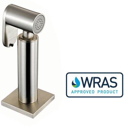 Additional image for Spruzzo Hand Spray Rinser (Brushed Steel).
