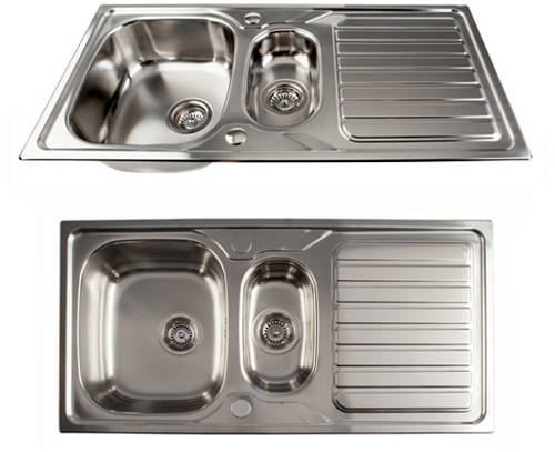 Doubl Inset Kitchen Sinks