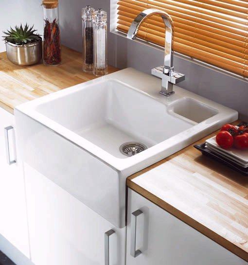 Canterbury 1 5 bowl sit in ceramic kitchen sink astracast - Kitchen sink saying ...