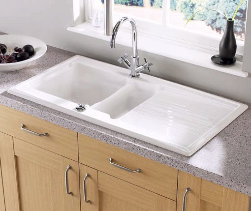 Bowl Ceramic Kitchen Sink