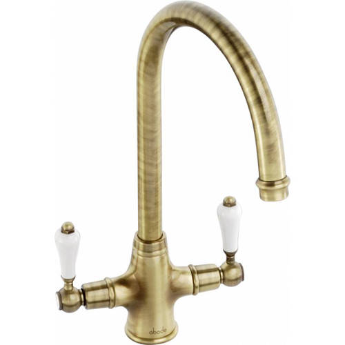 Additional image for Ludlow Monobloc Kitchen Tap (Antique Bronze).