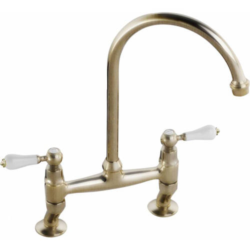 Additional image for Ludlow Bridge Kitchen Tap (Antique Bronze).