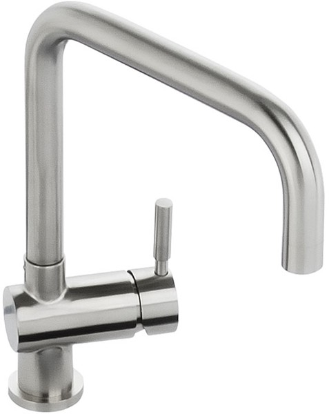 Additional image for Propus Monobloc Kitchen Tap With Swivel Spout (Stainless Steel).