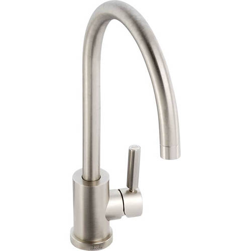Additional image for Atlas Single Lever Kitchen Tap (Brushed Nickel).