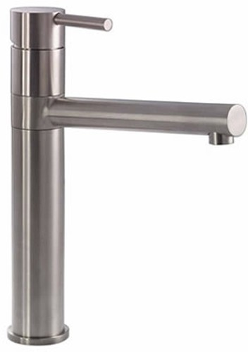 Additional image for Ignus Tall Kitchen Tap With Swivel Spout (Stainless Steel).
