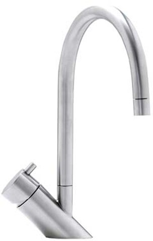Additional image for Diagon Monobloc Kitchen Tap With Swivel Spout (Stainless Steel).