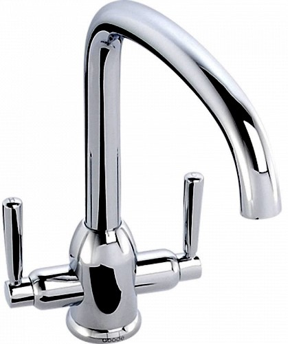 Additional image for Tate Monobloc Kitchen Tap With Swivel Spout (Chrome).