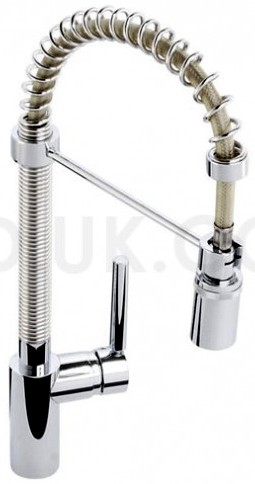Additional image for Ratio Professional Kitchen Tap With Swivel Spout (Chrome).