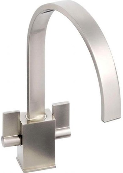 Additional image for Atik Monobloc Kitchen Tap With Swivel Spout (Brushed Nickel).