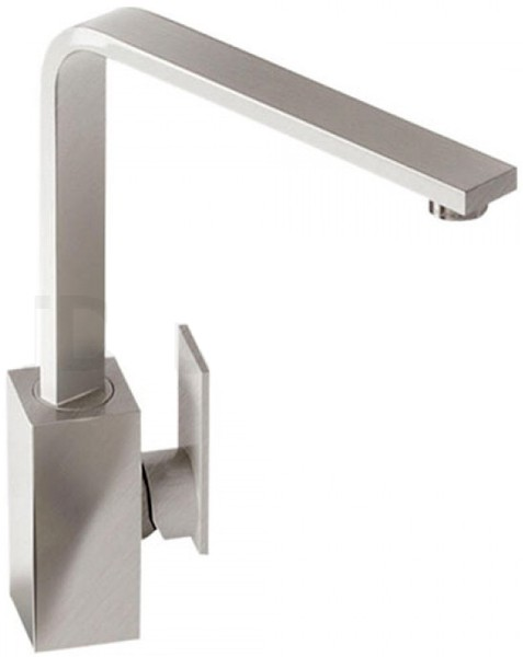 Additional image for Media Monobloc Kitchen Tap With Swivel Spout (Brushed Nickel).