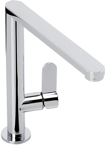 Additional image for Linear Monobloc Kitchen Tap With Swivel Spout (Chrome).