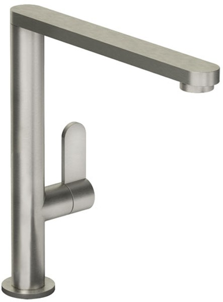 Additional image for Linear Monobloc Kitchen Tap With Swivel Spout (Brushed Nickel).