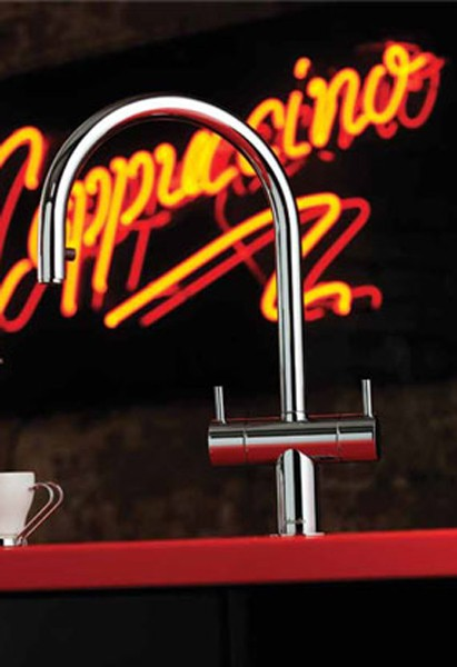 Additional image for Hesta Kitchen Tap With Spray Rinser (Chrome).
