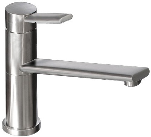 Additional image for Specto Kitchen Tap With Swivel Spout (Brushed Nickel).