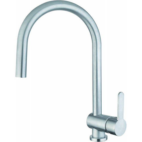 Additional image for Czar Single Lever Kitchen Tap (Chrome).