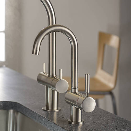 Additional image for Boiling Water Filtered Kitchen Tap 98° (Brushed Nickel).