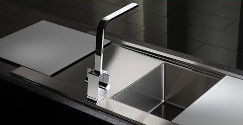 Additional image for Verso Kitchen Tap With Swivel Spout AT1189 (Chrome).