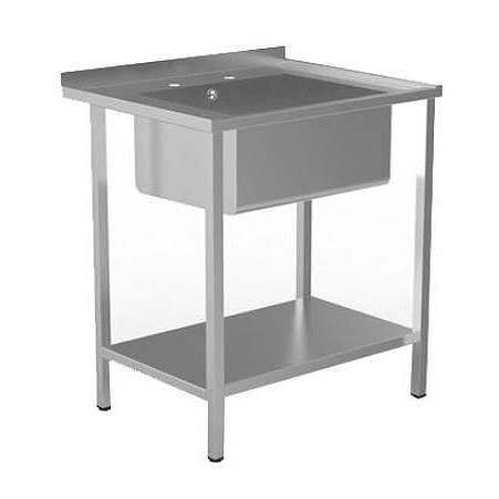 Additional image for Catering Sink With Legs 740mm (Stainless Steel).
