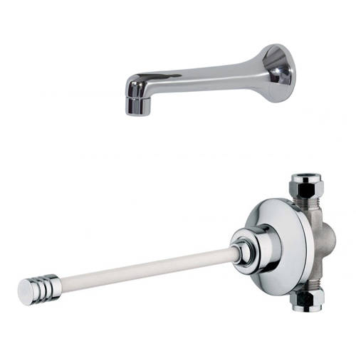 Additional image for Knee Operated Timed Flow Valve & Spout (Concealed).