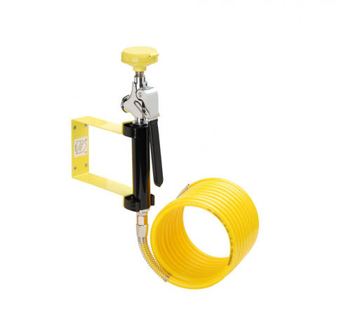 Additional image for Stay Open Drench Handset With Single Spray, Wall Bracket & Hose.