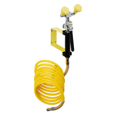 Additional image for Stay Open Drench Handset With Twin Spray, Wall Bracket & Hose.