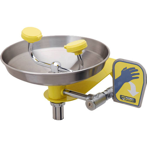 Additional image for Wall Mounted Eye / Face Wash Station (S Steel Bowl).