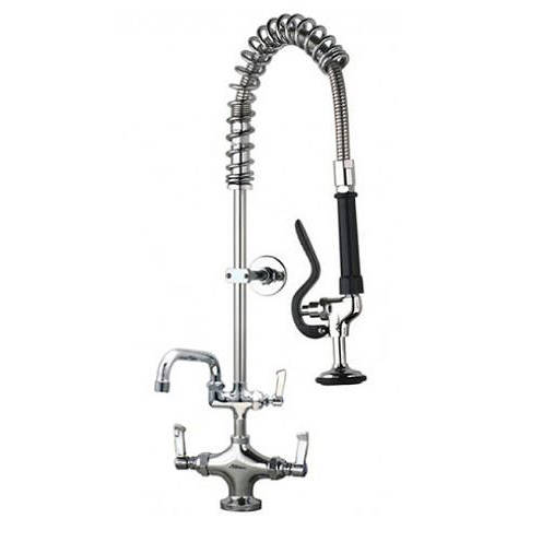 """Additional image for Short Pre Rinse Monoblock Catering Tap With 12"""" Spout."""