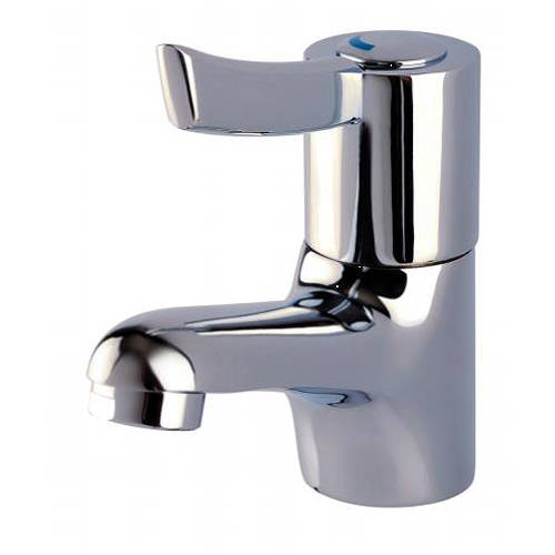 Additional image for Sequential Lever Basin Mixer Tap (Chrome).