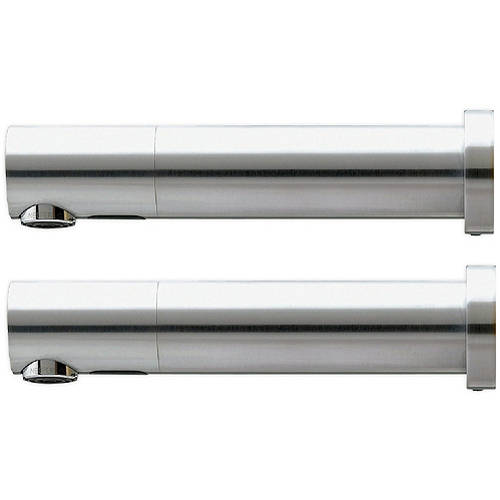 Additional image for 2 x Wall Mounted E Sensor Taps Kit 220mm (Mains Powered).