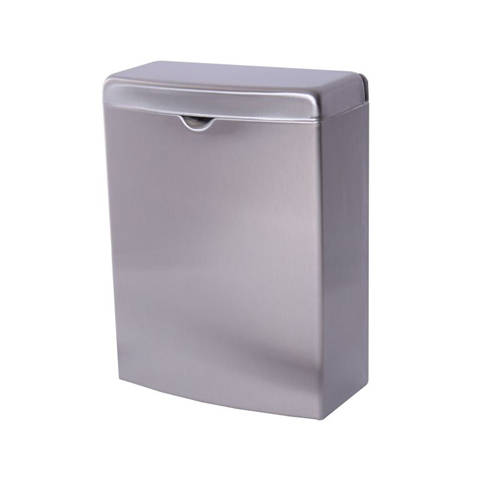 Additional image for Sanitary Towel Waste Bin (Stainless Steel).