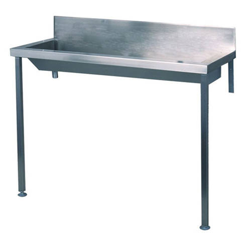 Additional image for Heavy Duty Wash Trough With Legs 1500mm (Stainless Steel).