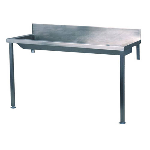 Additional image for Heavy Duty Wash Trough With Legs 2400mm (Stainless Steel).