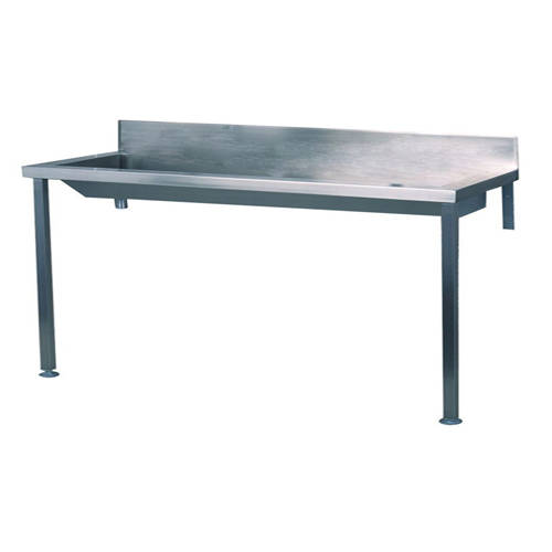 Additional image for Heavy Duty Wash Trough With Legs 3600mm (Stainless Steel).