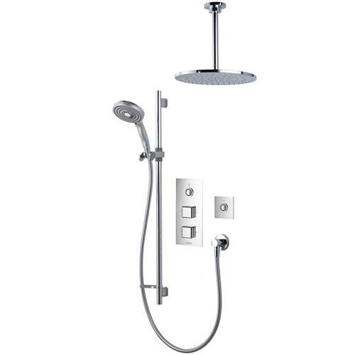 Additional image for Digital Shower Pack 76 (Chrome Piazza Handles, HP).