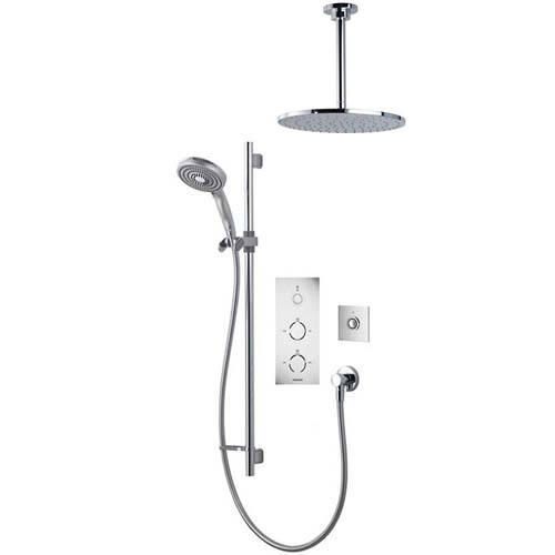 Additional image for Digital Shower Pack 79 (Chrome Tondo Handles, GP).