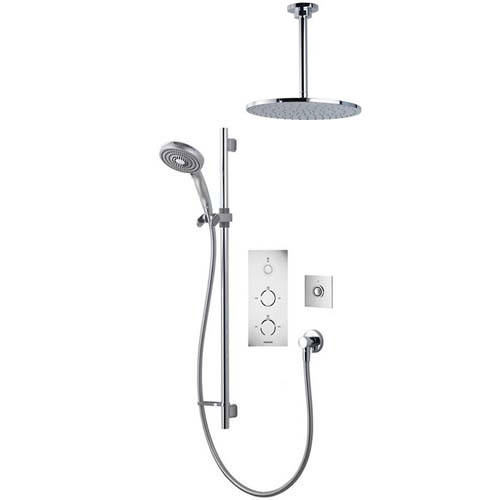 Additional image for Digital Shower Pack 80 (Chrome Tondo Handles, HP).