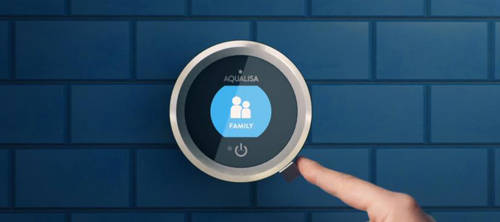 Additional image for Smart Shower Pack 01BL With Remote & Blue Accent (HP).