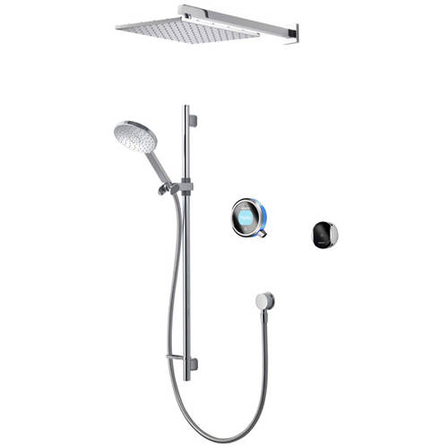 Additional image for Smart Shower Pack 07BL With Remote & Blue Accent (HP).