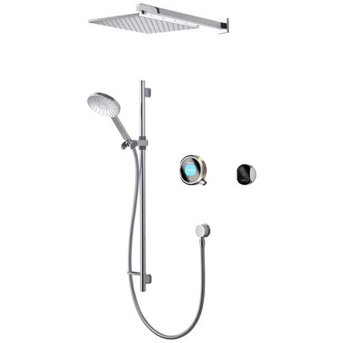 Additional image for Smart Shower Pack 08N With Remote & Nickel Accent (Gravity).