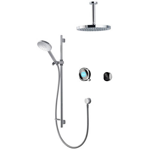 Additional image for Smart Shower Pack 12BC With Remote & Black Accent (Gravity).