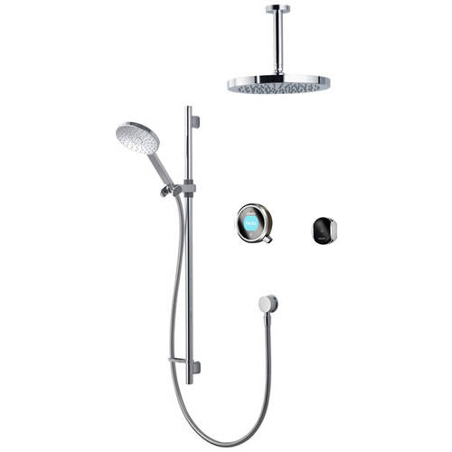 Additional image for Smart Shower Pack 12P With Remote & Pewter Accent (Gravity).