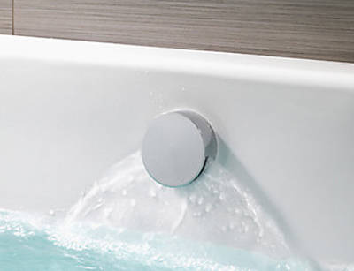 Additional image for Q Smart 26S, Ceiling Fed Rail Kit, Bath Fill & Silver Accent (Gravity).
