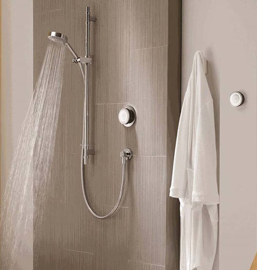 Additional image for Digital Shower With Remote, Slide Rail Kit & Fixed Head (HP).