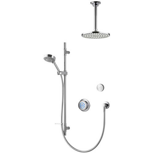 Additional image for Digital Shower With Remote, Slide Rail Kit & Fixed Head (GP).
